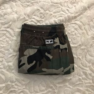 obey camouflage pants